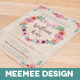 Pastel Floral Wedding Invite Package