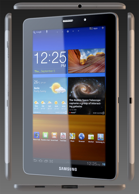 Samsung Galaxy Tab 7.7 - 3DOcean Item for Sale