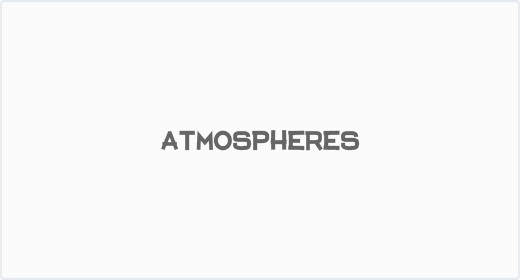 Atmospheres and Percussion