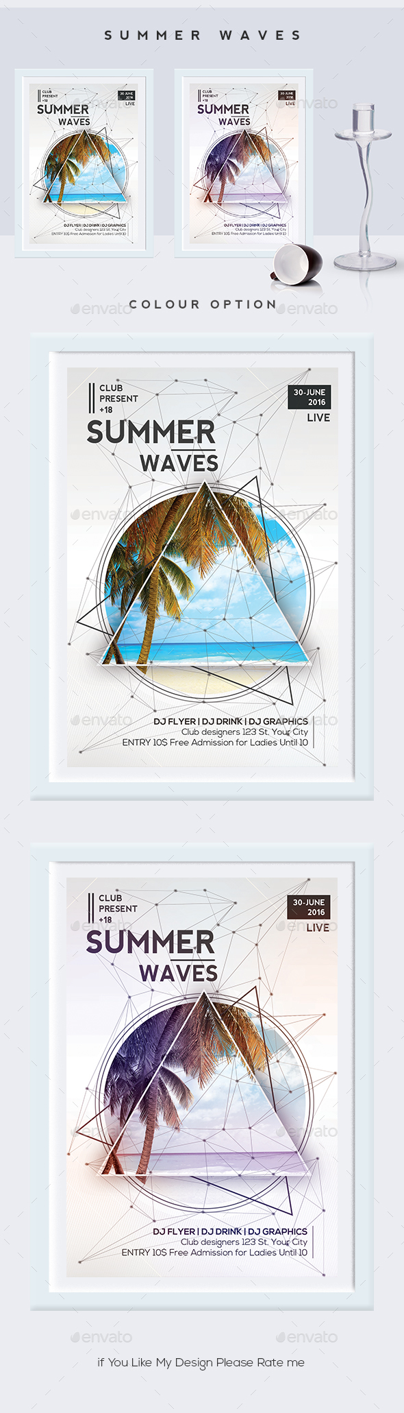 Summer Waves Flyer