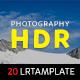 Photography HDR Lightroom Presets
