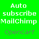 Auto subscribe MailChimp Opencart module