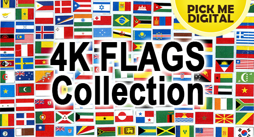 4K Flags Collection