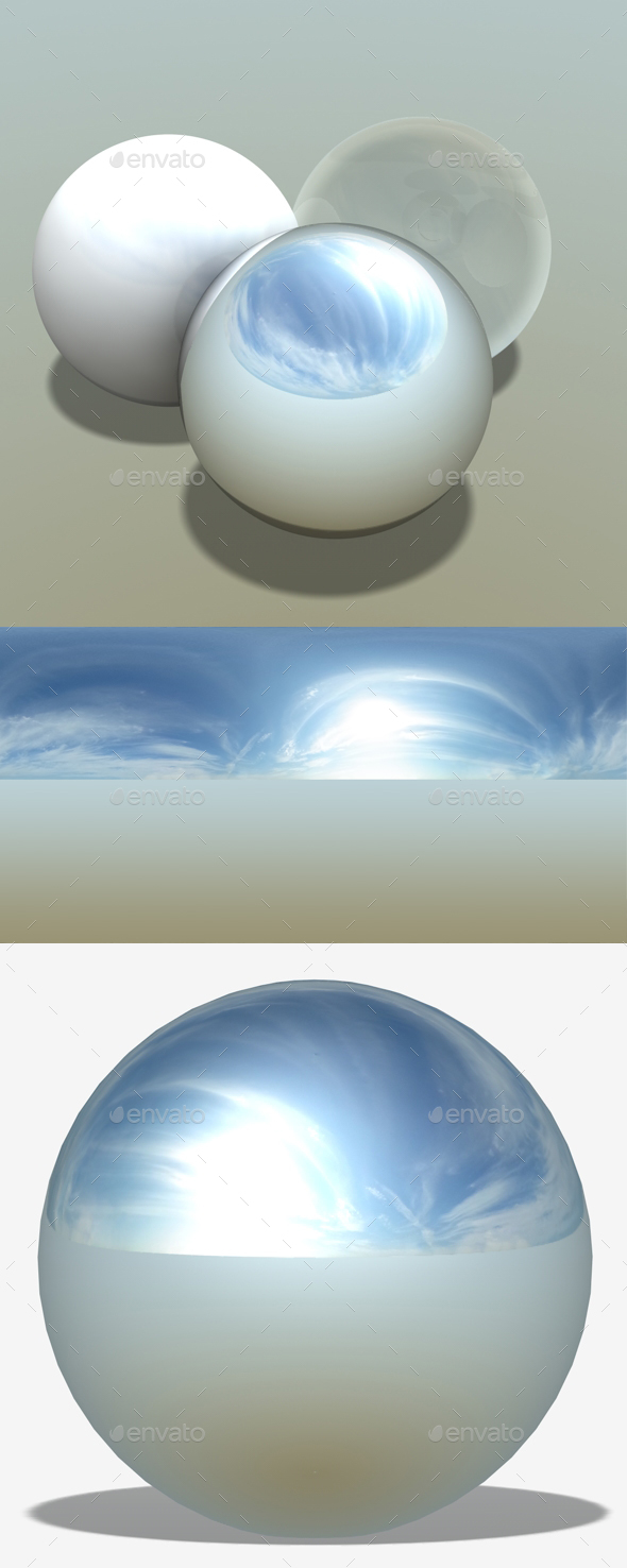 Summers Sky HDRI - 3DOcean Item for Sale