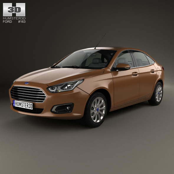 Ford Escort 2014 - 3DOcean Item for Sale