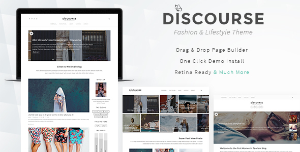 Download Discourse - Magazine & Blogging Theme