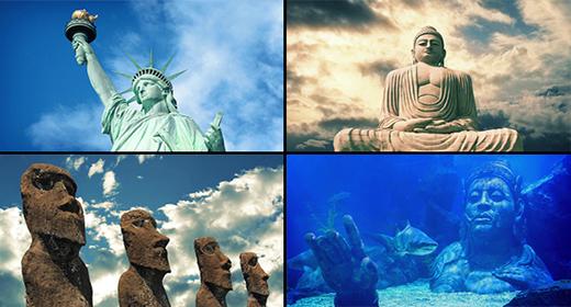 Statues & Ruins