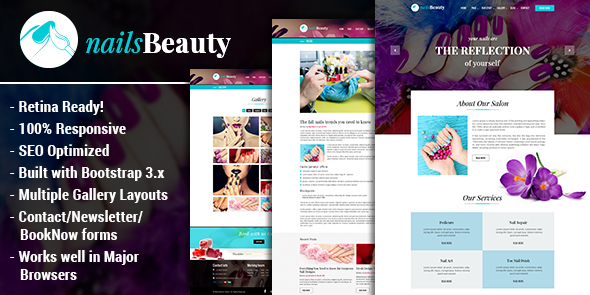 Download NailsBeauty - Spa and Beauty HTML Template