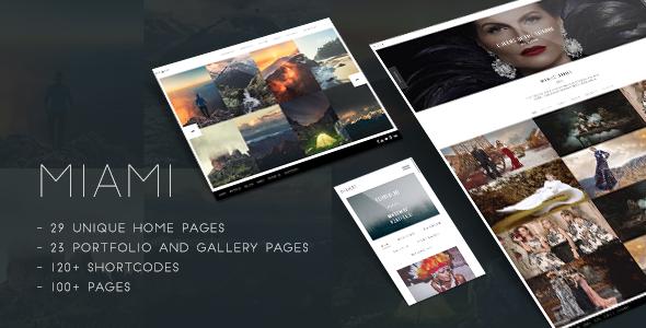 Download Miami - Creative Photography Portfolio Theme