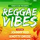 Reggae Vibes Flyer Template