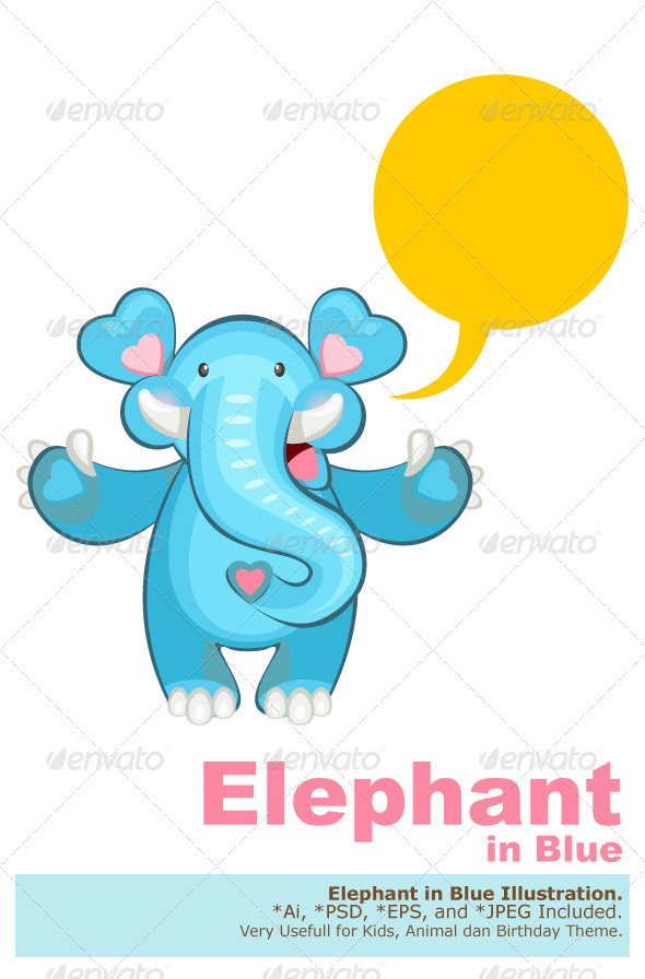 Blue Elephant Welcoming