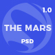The Mars - Creative PSD Template