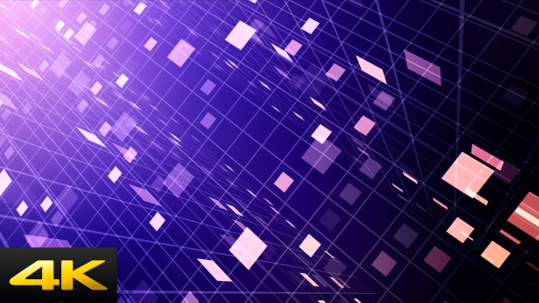 Perspective Blocks - Abstract Taustat Motion Graphics