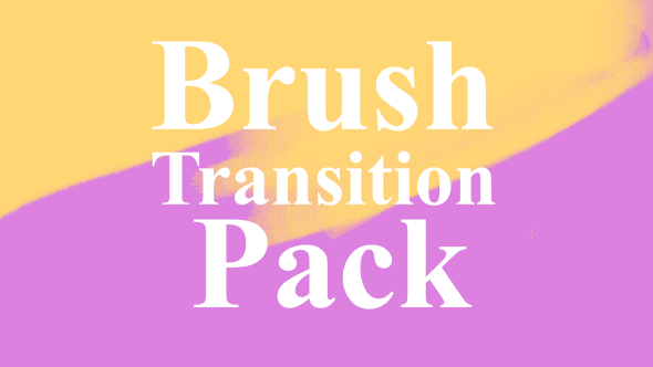 Brush Transition Pack - Transitions Motion Graphics