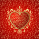 Heart ornament background - GraphicRiver Item for Sale
