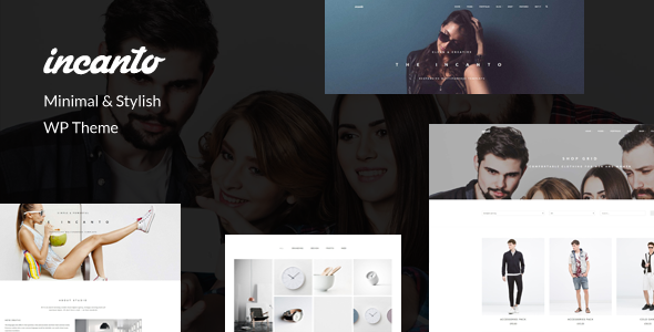 Incanto - Minimal & Stylish WP Theme
