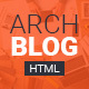 Archblog - Architecture Portfolio and Blog HTML template