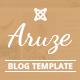 Aruze - Personal Joomla Template
