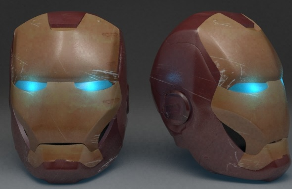Ironman helmet - 3DOcean Item for Sale
