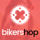 Biker Shop - premium PSD template