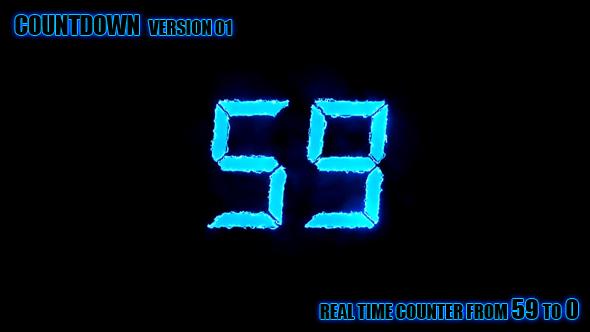 Counter 59-0 version 1 - Muut elementit Motion Graphics