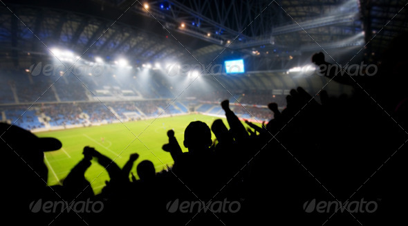 PhotoDune Fans celebrating goal 1672654