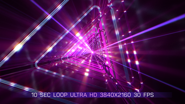 VJ Light Tunnel - Light Taustat Motion Graphics