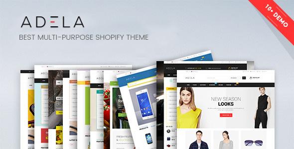 Ap Adela Shopify Theme (Shopping)