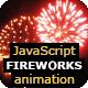 JavaScript Fireworks Animation