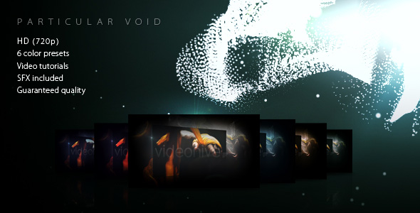 After Effects Project - VideoHive Particular Void Opener 196921