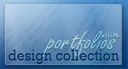 DESIGN COLLECTION | Portfolios (HTML)