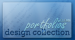 DESIGN COLLECTION | Clean Portfolios (HTML)