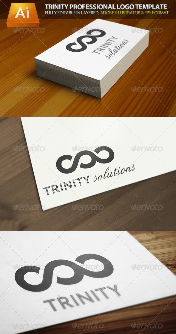 Trinity Professional Logo Template - Symbols Logo Templates