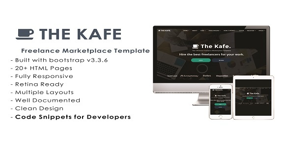 The Kafe - Ultimate Freelance Marketplace Template
