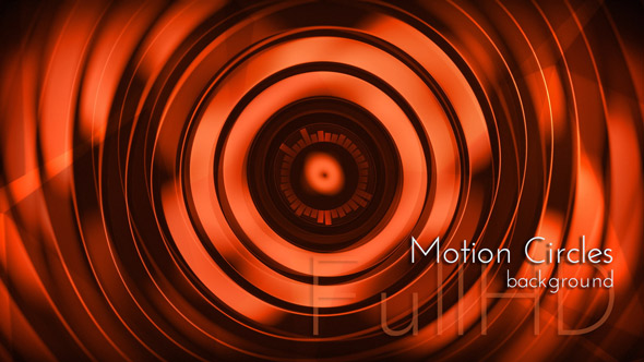 Punainen ympyrät - abstrakti taustat Motion Graphics