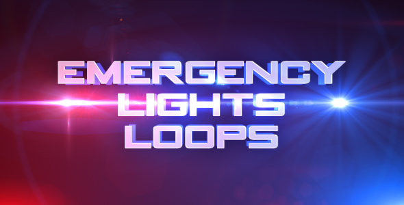 Emergency Lights by creationarmy | VideoHive