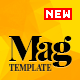 Magellan - Video News & Reviews Magazine HTML Template