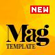 Magellan – Video News & Reviews Magazine HTML Template (Entertainment)