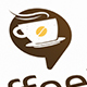 Coffee Chat Logo Template
