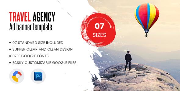 Download Travel Agency Banner Html5 - Google Web Designer