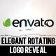 Elegant Rotating Logo Reveal