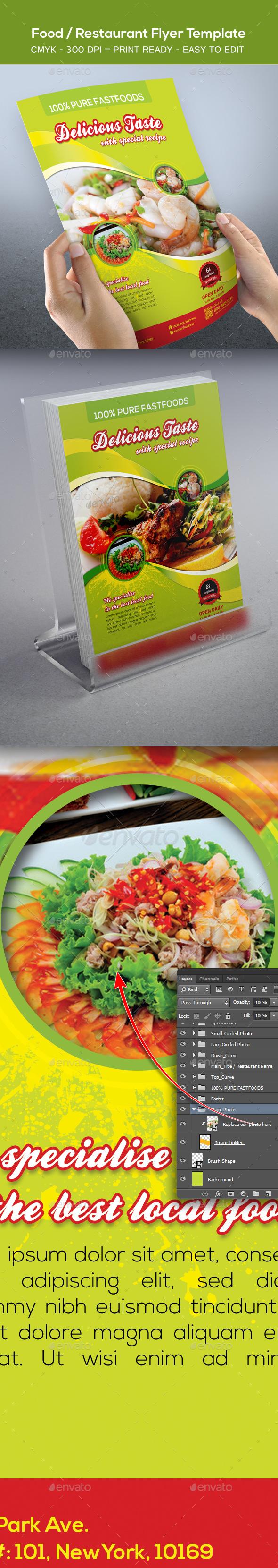 Food / Restaurant Flyer Template