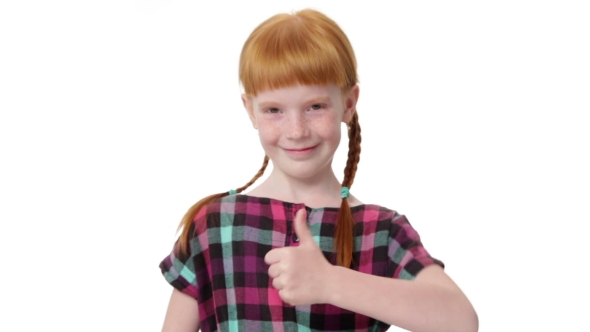 Redhead pigtail thumbs marriage