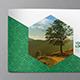 Eco Modern Green Pattern Brochure