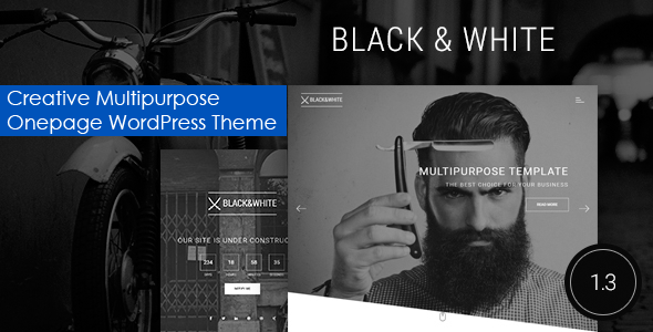 Black&White - Creative Multipurpose WordPress Theme