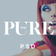 Pure - beauty/fashion blog and shop PSD theme