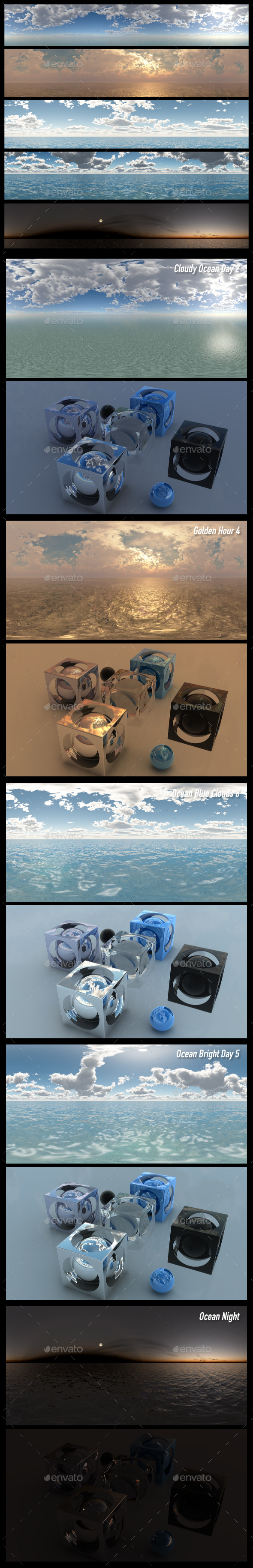 HDRI Pack 9 - 3DOcean Item for Sale