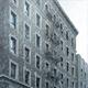 Apartment Building in Snowfall