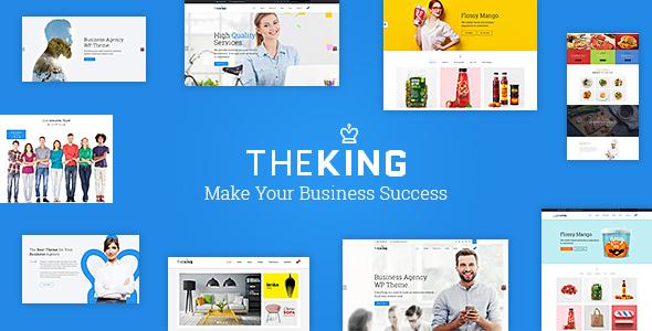 Download TheKing | Multipurpose Business Agency WordPress Theme