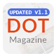 Dot Magazine PSD Templates